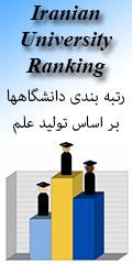 رتبه بندی علمی دانشگاههای ایران