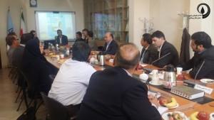 جلسه کمیته علمی همایش حمل و نقل